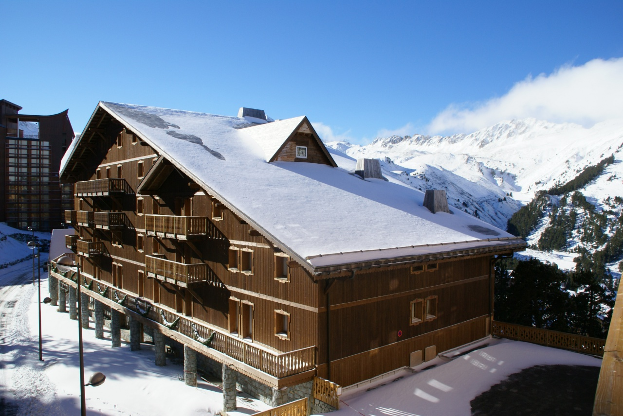 parking les arcs 2000