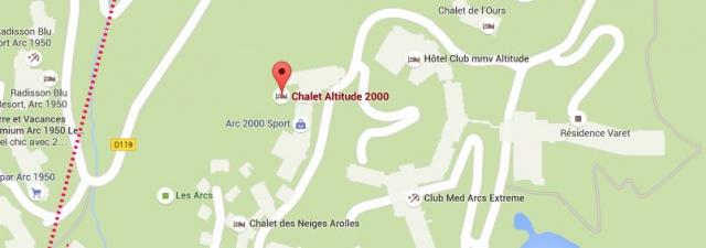 Chalet Altitude Arc 2000 Chalet Altitude