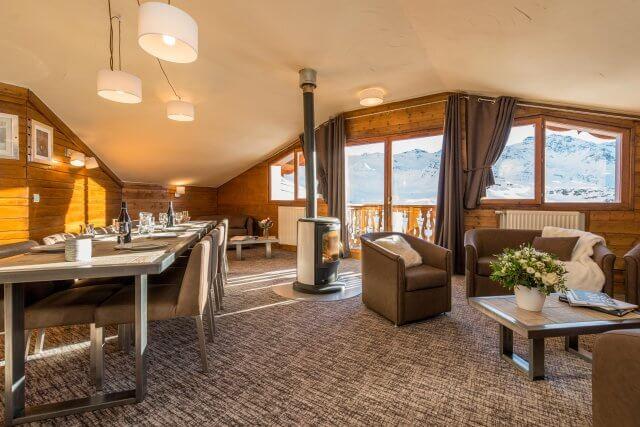chalet val 2400 val thorens chalet altitude. Black Bedroom Furniture Sets. Home Design Ideas